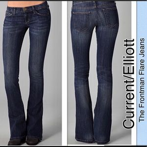CURRENT/ELLIOTT The Frontman Flare Jeans 24x28.5